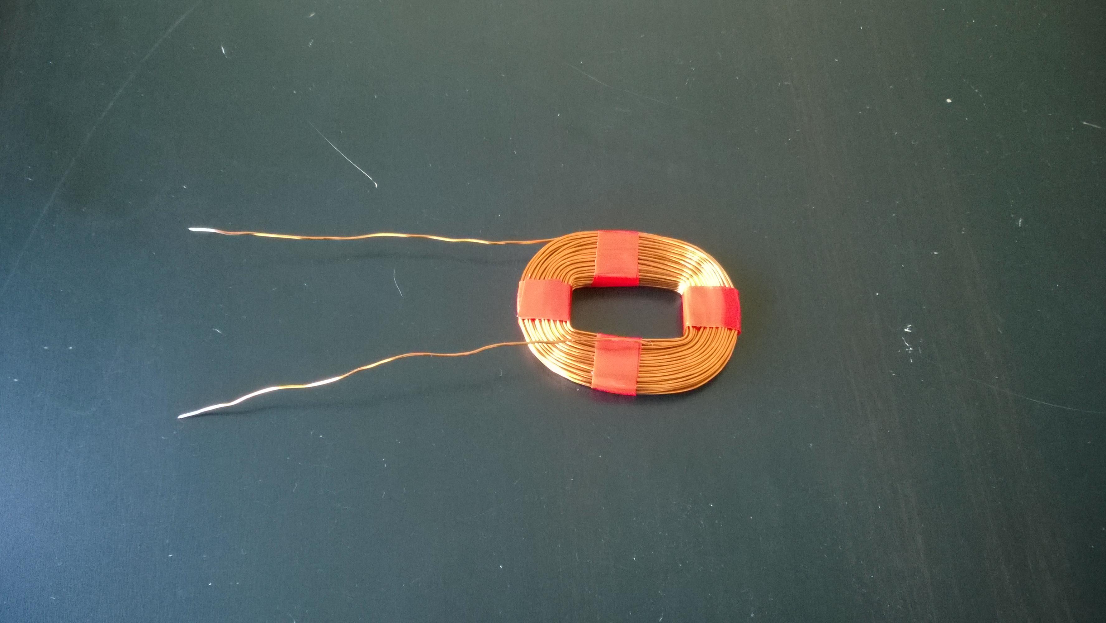 Comment fabriquer une bobine de cuivre - Fabriquer une guirlande electrique ...