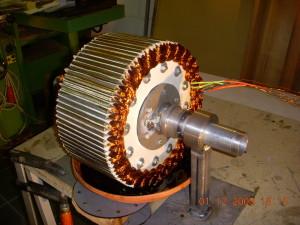 Générateur à flux radial pour éolienne